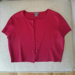 Hot pink Ann Taylor sweater